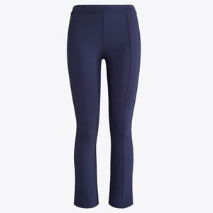 Tory Sport Tech Ponte Cropped Flare Pants